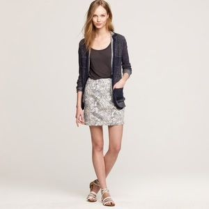 J. Crew Liberty Vintage Floral Mini Skirt